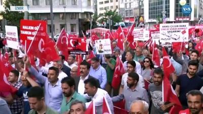 kalaba - İzmir'de Demokrasi Yürüyüşü ve Nöbeti
