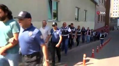 Kızılırmak'ta tatbikat yapan FETÖ üyeleri adliyeye sevk edildi