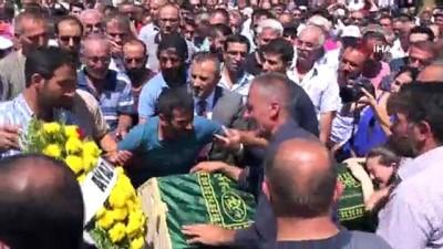 cenaze namazi -  PKK'nın bombası ile ölen 2 çocuk son yolculuğuna uğurlandı