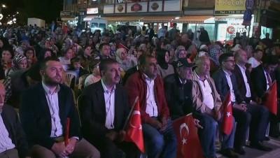 - Şuhut'ta binlerce gönül demokrasi nöbetinde tek yürek oldu