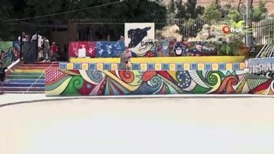 multeci -  - Suriye'de Savaşın Çocuklarına İlk Kaykay Parkı