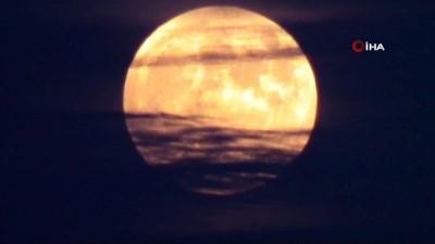 Tekirdağ'da 'Parçalı Ay Tutulması'