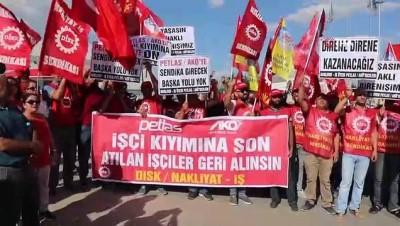 """Disk Nakliyat İş Sendikası Genel Başkanı Ali Rıza Küçükosmanoğlu:""""Sendikasız, güvencesiz taşeronda çalıştırmak kural haline getirilmek istenmiştir'"""