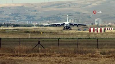 S-400 teslimatında 14. uçak Mürted Hava Üssü'ne indi
