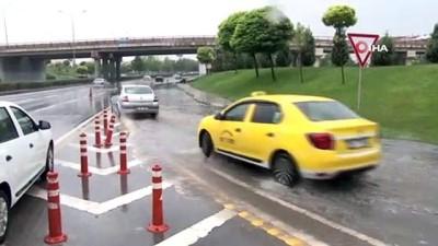 meteoroloji -  Sağanak yağış şehirler arası yolları vurdu