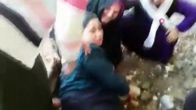 Serinlemek için sulama kanalına giren Suriyeli küçük kız boğularak hayatını kaybetti