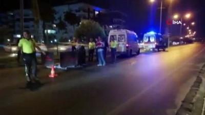 Alanya'da motosiklet yayaya çarptı: 1 ölü, 1 ağır yaralı
