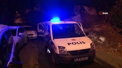 Beykoz'da kundaklama iddiası polisi harekete geçirdi Video