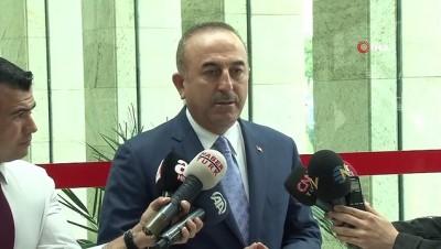 Dışişleri Bakanı Mevlüt Çavuşoğlu:'Saldırı 3 kişi tarafından düzenlendi. Saldırganlar Iraklı iki kişiye de saldırdı' Video