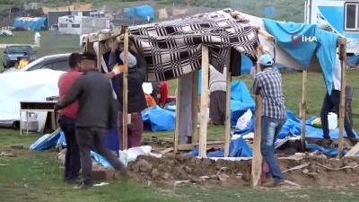 Erciyes'teki çadırlar kaldırılıyor