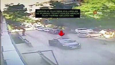 Sauna hırsızları önce kameralara sonra polise yakalandı