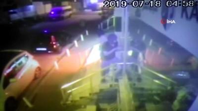 maskeli hirsizlar -  Esenyurt'ta iş yerine giren maskeli hırsızlar güvenlik kamerasında