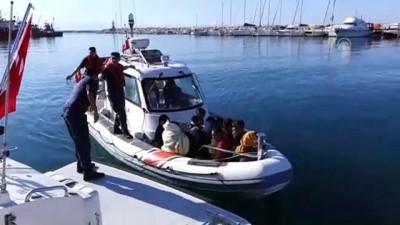 nani - 84 düzensiz göçmen yakalandı - ÇANAKKALE