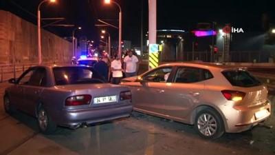 Kırmızı ışık ihlali kazaya neden oldu:1 yaralı Haberi