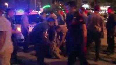 silahli saldirgan -  Otomobili gasp edildi, saldırgan sanılıp darp edildi