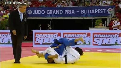 altin madalya - Budapeşte Judo Grand Prix ikinci günü nefes kesici maçlara sahne oldu