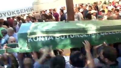 cenaze namazi -  Konya'da kaza kurbanları toprağa veriliyor