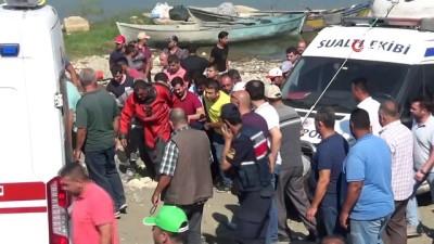 kalaba -  Marmara Gölü'ndeki kayıp 2 kişinin cansız bedenine ulaşıldı
