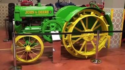 modeller -  135 yıllık traktörler bu müzede sergileniyor