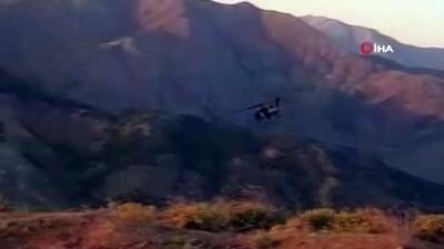helikopter -  Bingöl'de 8 terörist etkisiz hale getirildi, 2'si ödüllü listede çıktı