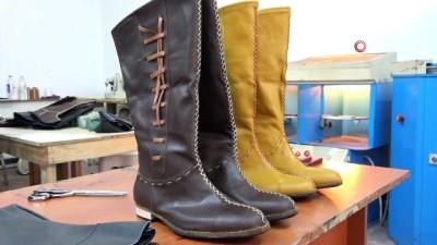 modeller -  Hollywood kahramanlarının ayakkabılarını Bursalı usta yapıyor