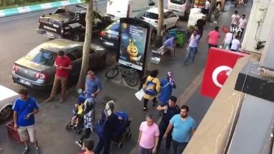 kirmizi isik -  Kahramanmaraş'ta yaya otomobile çarptı iddiası