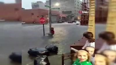 meteoroloji -  - New York'ta sel