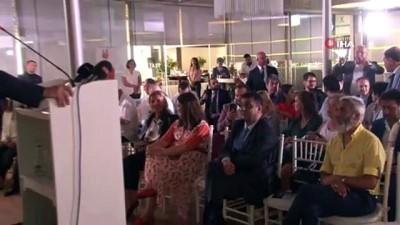 cumhurbaskani -  ABD'nin ilk Türk belediye başkanı İstranbul'da gazetecilerle bir araya geldi