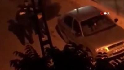 ihbar hatti -  Gece bekçisi yaralı Suriyelinin kanamasını atleti ile durdurdu
