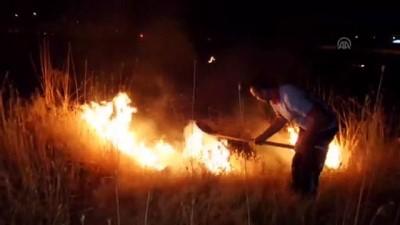 Bingöl Et ve Süt Kurumu bahçesinde yangın - BİNGÖL