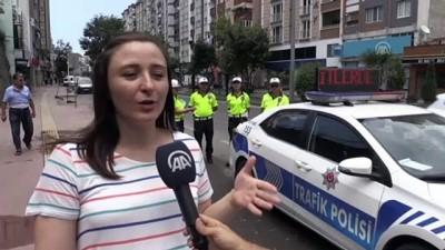 'Figüran polisler'den trafikte denetim - SAMSUN