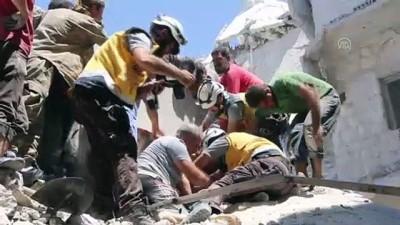 İdlib'e hava saldırıları: 14 ölü - ERİHA