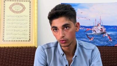 Yanlışlıkla kampa gönderilen Suriyeli genç ailesine kavuştu - İSTANBUL