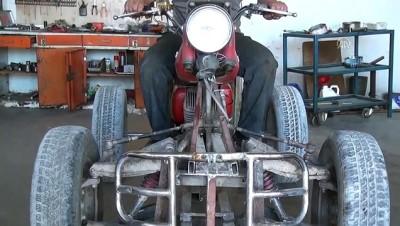 hurda arac - Baba yadigarı motosikletle hayalleri gerçeğe döndü - BURDUR