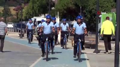 Beykoz'da 'Bisikletli Zabıtalar' görevde