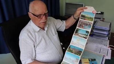 profesor -  Türkiye'nin ilk renkli kartpostallarını üreten adam 93 yaşında işinin başında