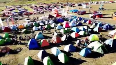 yaz mevsimi - Bisikletçiler Festa 2200'de Erciyes'i yaşayıp Kayseri'yi keşfettiler