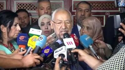 parlamento - Gannuşi parlamento seçimleri adaylık başvurusunu yaptı - TUNUS