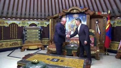 - TBMM Başkanı Şentop, Moğolistan Cumhurbaşkanı ile görüştü - Şentop, yapımı TİKA tarafından gerçekleştirilen Moğolistan Başsavcılık Ceza Davaları Merkezi Arşiv Ofisi'nin açılışına katıldı