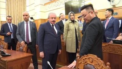 parlamento - TBMM Başkanı Şentop, Moğolistan Parlamentosunu gezdi - ULANBATOR