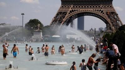 ispanya - Sıcak hava dalgası Avrupa'da etkili oldu termometreler 40'ı gördü