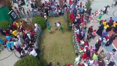 kalamis -  Gaziosmanpaşa'da sınava giren öğrenciler piknik şöleninde stres attı