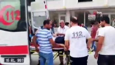 yasli adam -  Otomobilin çarptığı yaya ölümden döndü