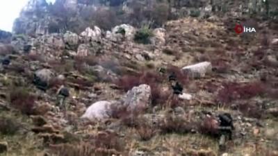 el bombasi -  Siirt'te etkisiz hale getirilen PKK'lı teröristlere ait çok sayıda mühimmat ele geçirildi