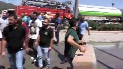 Silah fabrikasındaki yangın söndürüldü - KONYA