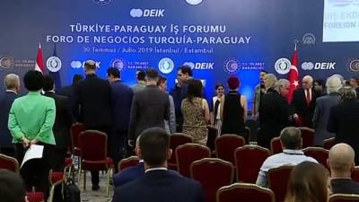 ticaret anlasmasi - Türkiye-Paraguay İş Forumu - Ticaret Bakanı Pekcan - İSTANBUL