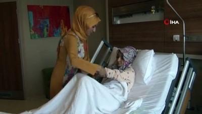 Hastanın rahminden 41 parça miyom çıkartıldı