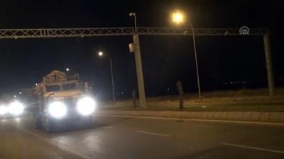 zirhli araclar - Suriye sınırına askeri sevkiyat - ŞANLIURFA