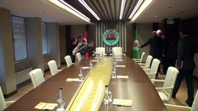 multeci - CHP Ekonomi Masası heyetinden TZOB'a ziyaret - ANKARA