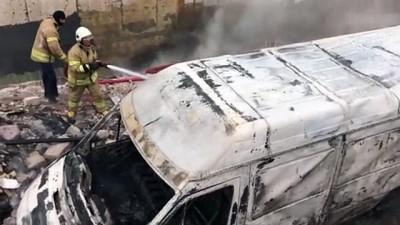 fakulte - Maltepe'de araç yangını - İSTANBUL